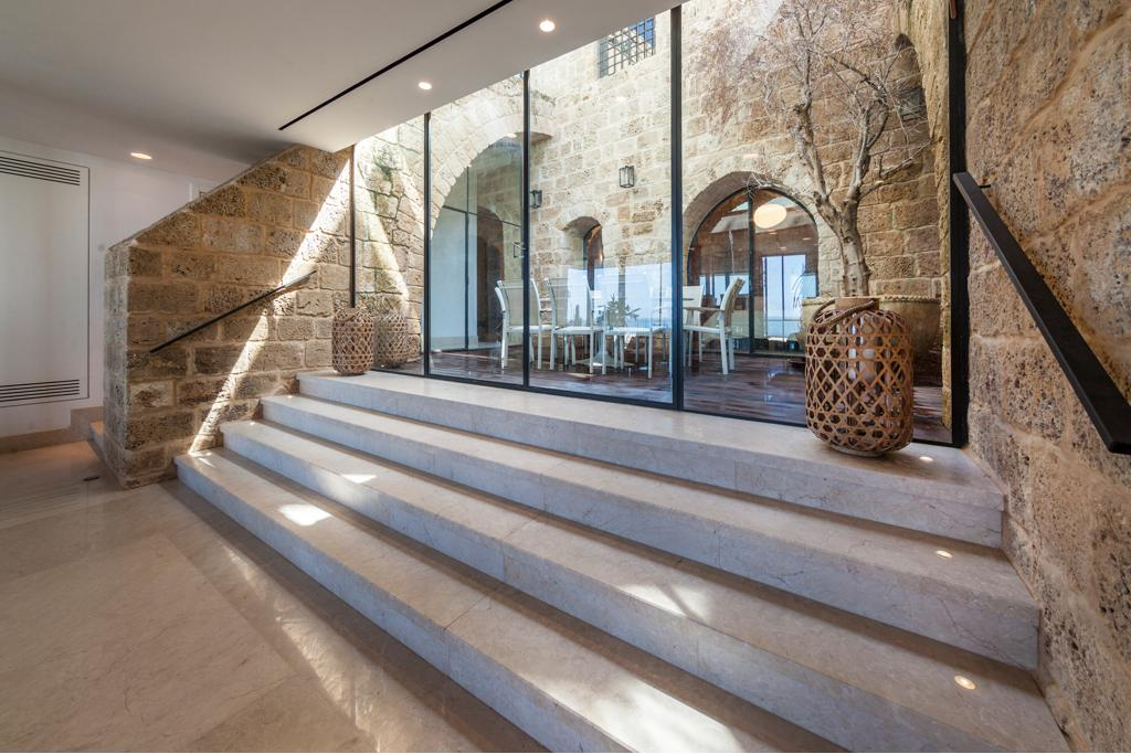 Exceptional house on the beach of the ancient port city of Tel Aviv  Old Jaffa