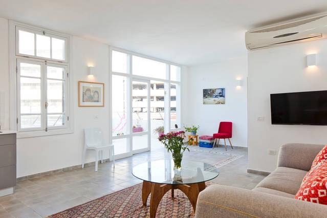 -RENTED- Fully furnished Mini Penthouse in Rothschild blvd area